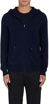 Barneys New York Men's Cashmere Zip-Front Hoodie - Navy