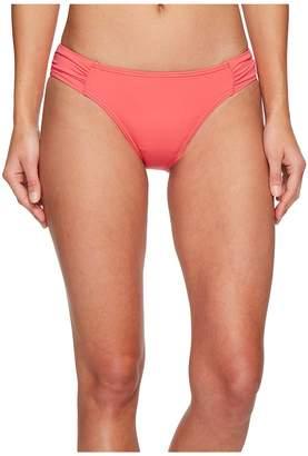 Tommy Bahama Pearl Side-Shirred Hipster Bikini Bottom Women's Swimwear