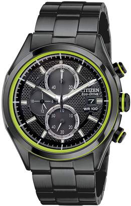 Citizen Drive from Eco-Drive Men's Stainless Steel Chronograph Watch - CA0435-51E