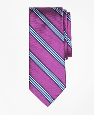 Brooks Brothers Double-Framed Stripe Tie