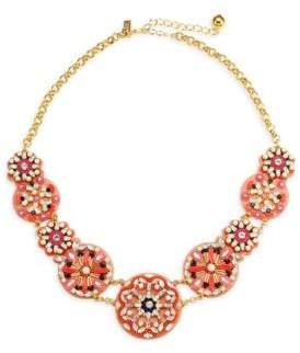Kate Spade Desert Garden 18K Yellow Goldplated Statement Necklace