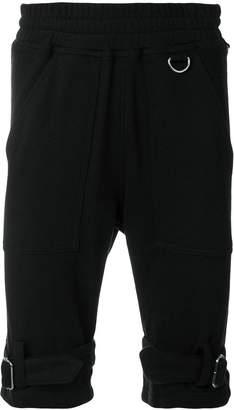 Kokon To Zai strap detail jogging shorts