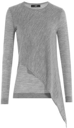 Steffen Schraut Asymmetric Merino Wool Pullover
