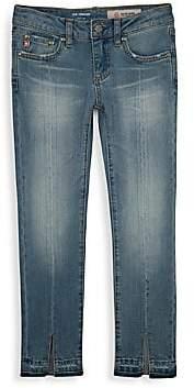 AG Adriano Goldschmied kids Girl's The Teegan Crop Jeans