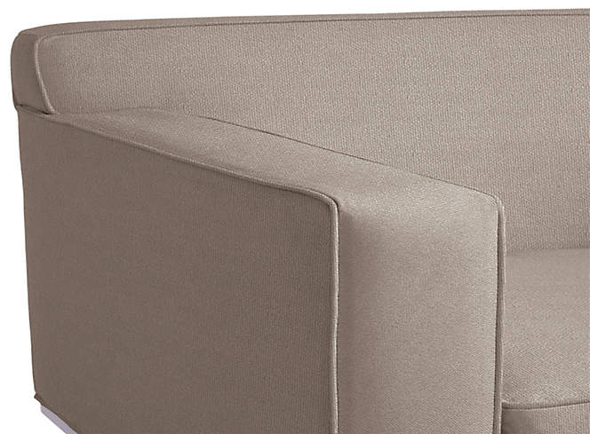 Design Within Reach Theatre Sofa in Ultrasuede