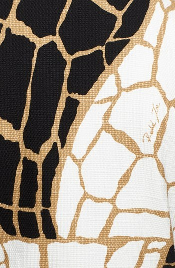 Rachel Zoe 'Mena' Giraffe Print Coat