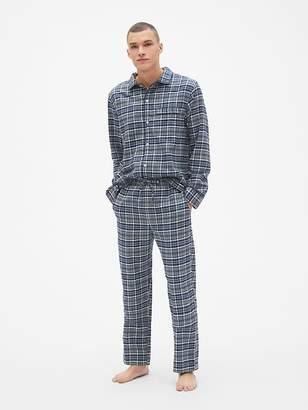 Gap Flannel PJ Set