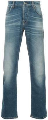 Nudie Jeans straight-leg washed jeans