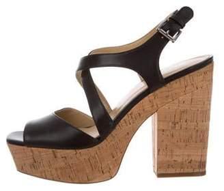 MICHAEL Michael Kors Crossover Platform Sandals