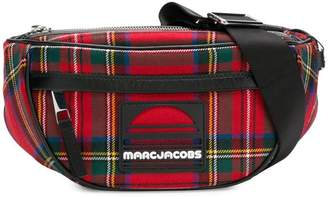 Marc Jacobs tartan Sport belt bag