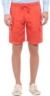 Vilebrequin Linen Cargo Shorts