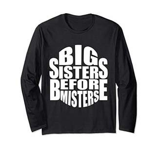 Big Sisters Before Misters Cool Statement Graphic Tee