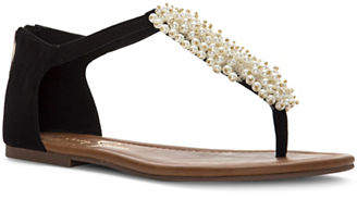 Jessica Simpson Kenton Embellished Thong Sandals