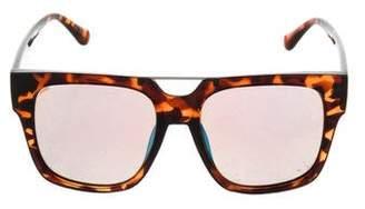 Quay Tortoiseshell Acetate Sunglasses