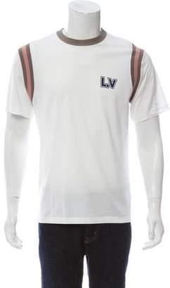 Louis Vuitton 2017 Varsity Printed Aloha T-Shirt