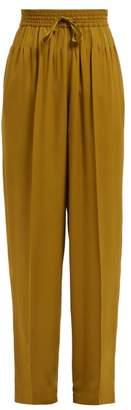 Haider Ackermann Tailored Drop Crotch Trousers - Womens - Khaki