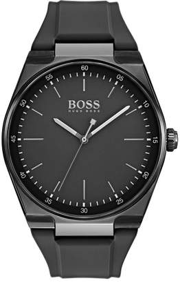 BOSS Magnitude Rubber Strap Watch, 42mm