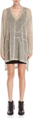 Religion Choice Layered Tunic Sweater