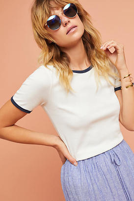 Anthropologie Taye Ringer Tee $38 thestylecure.com