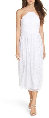 Women's Vera Wang Lace Midi Dress $298 thestylecure.com