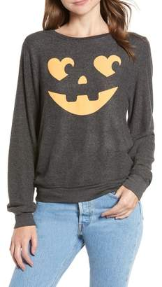 Wildfox Couture Jack O' Hearts Baggy Beach Jumper Pullover