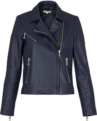 Whistles Mason Leather Biker