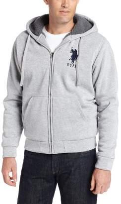U.S. Polo Assn. Men's Fleece Hoodie with Nubby Polar Fleece Lining