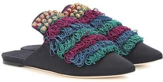 Sanayi 313 Alegra embellished slippers