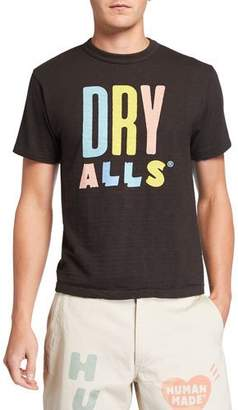 HUMAN MADE Men's Dry Alls Logo T-Shirt