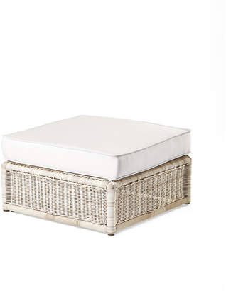 Serena & Lily Pacifica Ottoman - Driftwood