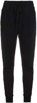 Haider Ackermann Black slim leg track pants