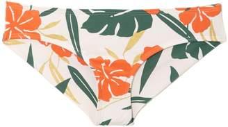 Vince Camuto Tropical-print Bikini Bottom