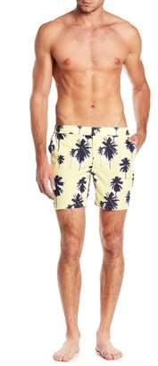 Trunks Mosmann Australia Sundaze Palm Tree Print Swim Shorts