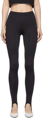 Nanushka Black Skylar Stirrup Leggings