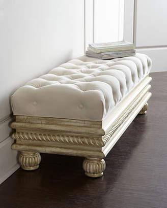"""Massoud Zalkin 56"""" Storage Bench"""