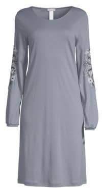 Hanro Jana Long Sleeve Gown
