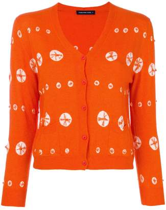 Samantha Sung embroidered double pocket cardigan