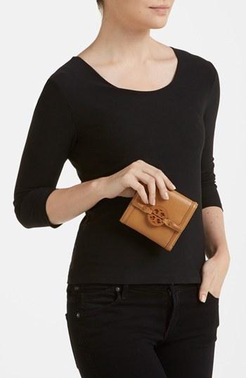 Tory Burch 'Amanda' Trifold French Wallet
