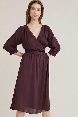 Witchery Midi Wrap Dress