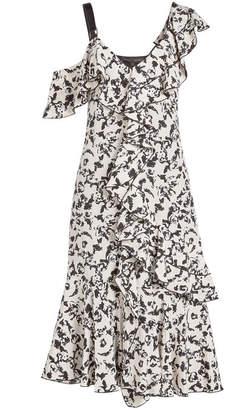 Proenza Schouler Ruffled Cocktail Dress