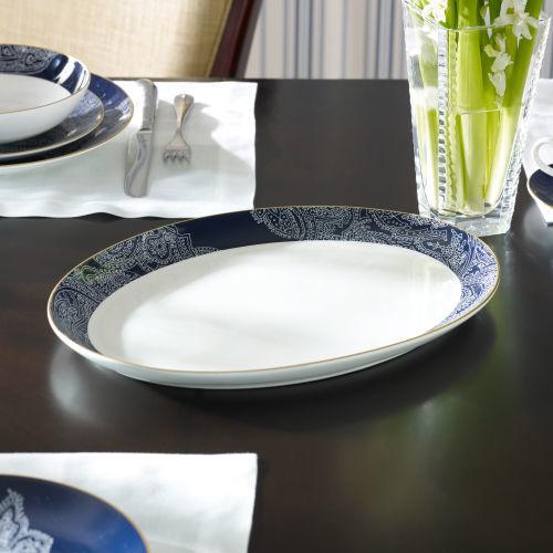 Ralph Lauren Round Hill Oval Platter