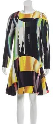 Kenzo Printed Knee-Length Dress multicolor Printed Knee-Length Dress