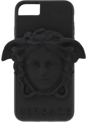 Versace Black 3D Medusa iPhone 8 Case