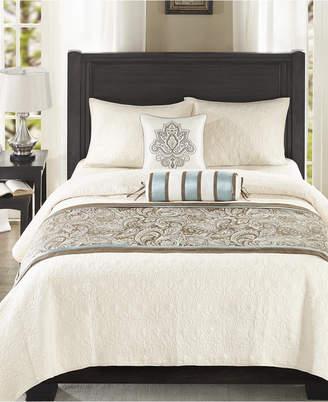 Madison Park Aubrey 3-Pc. Bedscarf and Pillow Set Bedding