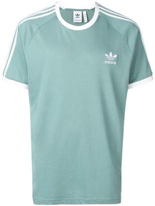 adidas chest logo T-shirt