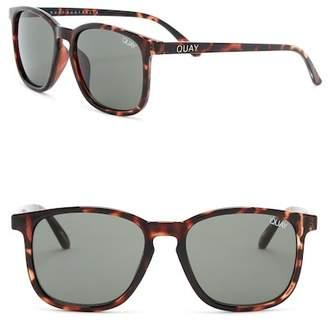 Quay The Oxford 44mm Square Sunglasses