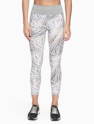 Calvin Klein printed high waist leggings