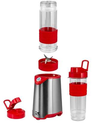 Kalorik Red and Stainless Steel Personal Blender - Set of 2 bottles