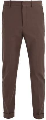 Bottega Veneta Tapered-leg stretch-cotton chino trousers