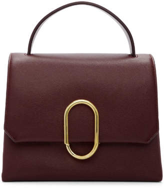 3.1 Phillip Lim Burgundy Mini Alix Top Handle Bag